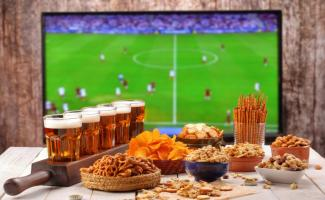 Fútbol en restaurantes